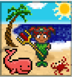 Romi On the Beach
