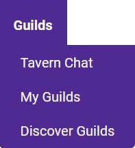 Toolbar Guilds Tab
