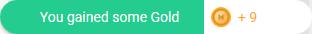 Gold-gain