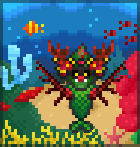 Sea Monster Branderwall