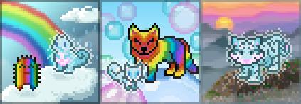 Promo celestial rainbow potions