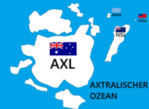 Axtralienkotzeanienkarte