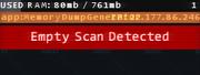 Executables - MemoryDumpGenerator Fail