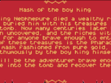 Mask of the Boy King