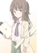 Haganai Manga Volume 7 Illustration