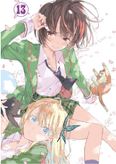 Haganai Manga Volume 13 Illustration