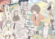 Haganai Manga Volume 8 Illustration