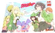 Haganai manga Gamers card