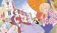 Haganai Manga Volume 12 Illustration (2)