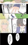 Manga volume 11 color page