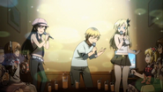 7-Sena, Kodaka and Yozora in Karoke