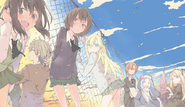 Haganai Manga Volume 12 Illustration (4)