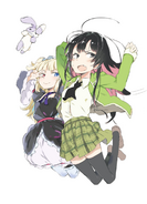 Haganai Manga Volume 6 Illustration