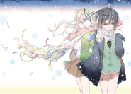 Haganai Manga Volume 13 Illustration (2)