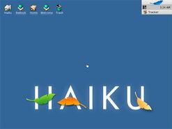 Haiku desktop