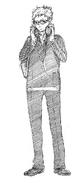 Kei Tsukishima Sketch