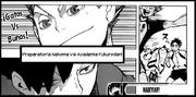 Nekoma vs Fukurōdani
