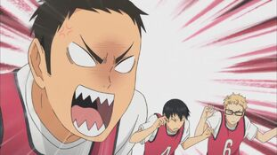 Daichi angry