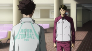 Oikawa and Ushijima s2 e25 1