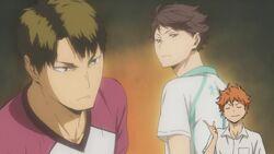 Karasuno`s rival