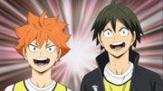 Hinata y Yamaguchi
