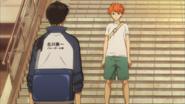Confrontacion Hinata y Kageyama