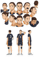 Asahi Character Design
