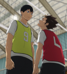 Kageyama and Nishinoya s4-e7-1