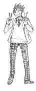 Toru Oikawa Sketch