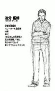 Takurō Oiwake CharaProfile