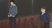 Oikawa and Iwaizumi s3-e5-1