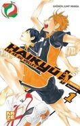 Haikyū!! Les as du volley 1 cover
