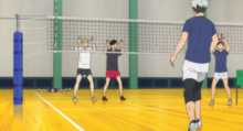 Episode 7- Tsukishima, Kuroo, Bokuto and Akaashi