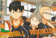 Sugawara, tsukishima and kageyama