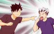 Bokuto et Kuroo