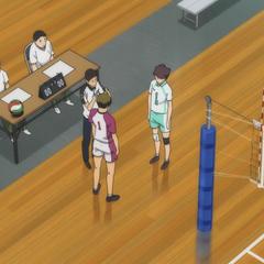 Shiratorizawa kontra Aobajōsai w finale eliminacji turnieju międzylicealnego