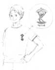 Akiteru and His T-shirt