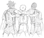 Nekoma Third Years