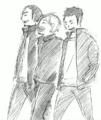 Daichi, Asahi, and Suga Walking Together.png