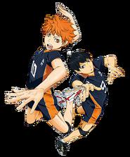 Hinata and Tobio