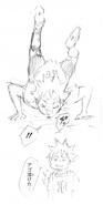 Hinata and Flying Fall