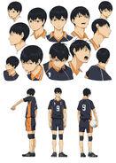 Kageyama Character Design