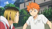 Hinata y Kenma