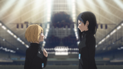 Kiyoko and Yachi s4-e10-1