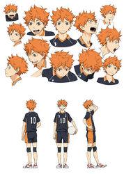 Hinata Character Design