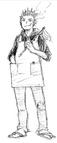 Keishin Ukai Sketch