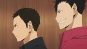 Daichi and Kuroo s2-e14-1