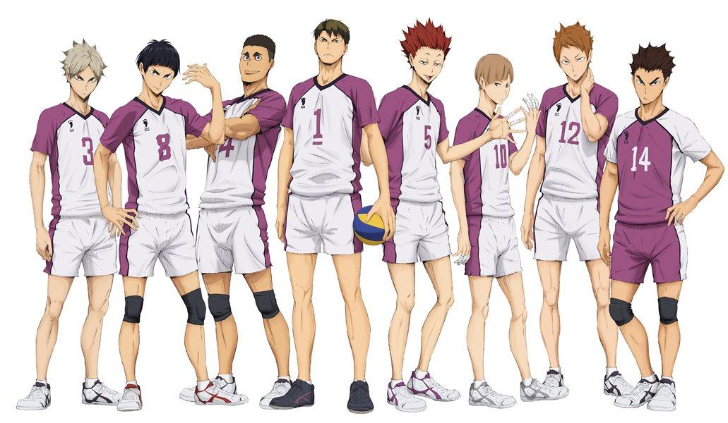 Anime Characters With 3 Letter Names : Image shiratorizawa anime g haikyuu wiki