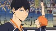 Hinata and Kageyama s4-e10-1
