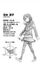 Kiyoko Shimizu CharaProfile